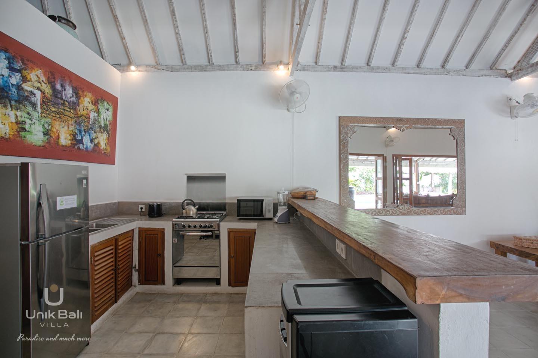 Unik Bali Villa A Vendre Bulan Kitchen Area View 03