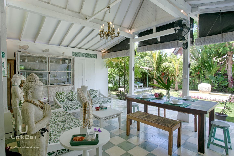 Unik Bali Villa A Vendre Purnama Living And Dining Area View 06