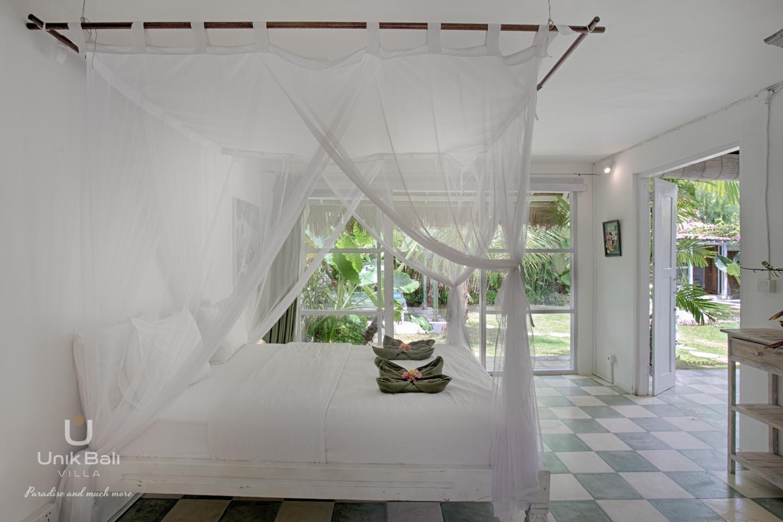 Unik Bali Villa A Vendre Purnama Room 01 Bed View 05