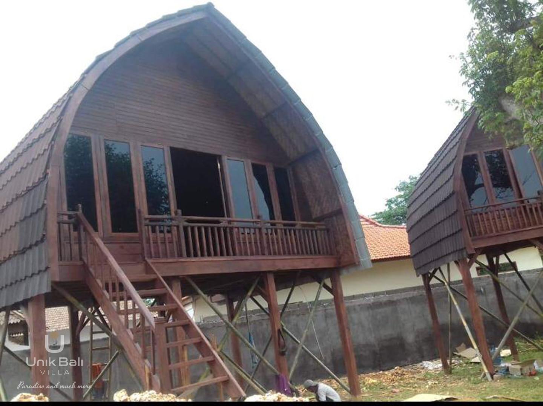 Unik Bali Villa For Sale Two Bungalows Ouside View